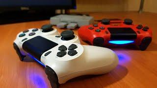 PSC - DualShock 4, особенности подключения, прошивки, работа в играх