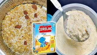 No Need To Buy Cerelac Anymore || Homemade Cerelac For 6 -12 Months Babies - Healthy Baby Food