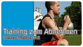 preview picture of video 'Training zum Abnehmen - Outdoor Workout #12'