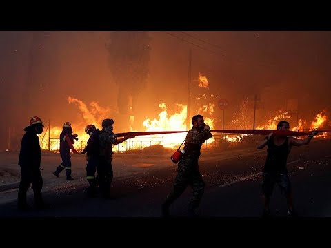 Φονικές πυρκαγιές στην Αττική