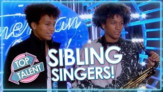 SENSATIONAL SIBLING SINGERS! Got Talent, X Factor and Idols | Top Talent