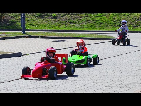Outdoor Fun on Electric Gokarts, Dirt Bike and Quad from Mini Bikes Store