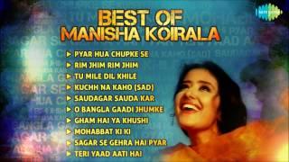 Best Of Manisha Koirala Film Songs   Pyar Hua Chupke Se   Tu Mile Dil Khile   Rim Jim Rim Jim