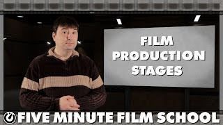 Film Production Stages - Five Minute Film School