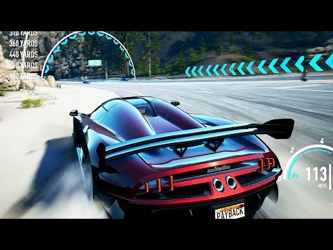 Need for speed payback regera bull rider build 1 story and 1 mp races