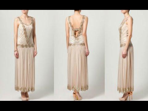 Rückenfreies Kleid lang mit Perlen + Outfit Tipps