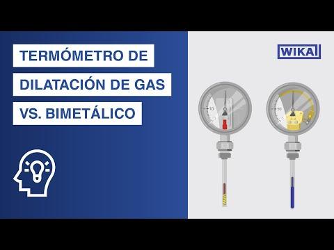 Termómetro bimetálico vs. termómetro de dilatación de gas | ¿Cuál es la diferencia?