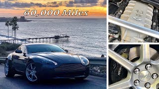 60,000 Miles in an Aston Martin Vantage: the Good, the Bad, the Ugly