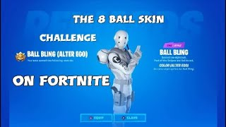 How to get The White 8 ball skin👑👑👑