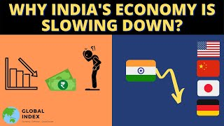Why India's Economy is Slowing Down ? | Future of Indian Economy