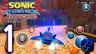 Sonic All Star Racing Transformed Android Walkthrough - Gameplay Part 1 - World Tour