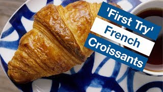 🔵 How To Make Real French Croissants First Try    Glen & Friends Cooking