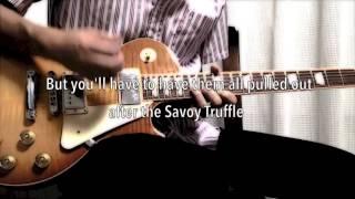Savoy Truffle - The Beatles karaoke cover