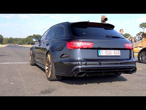 Audi RS6 Avant 4.0 TFSI V8 Quattro 560HP Accelerations!