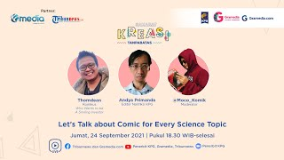 Let's Talk about Comic for Every Science Topic with Thomdean & Penerbit KPG | #SahabatKreasi