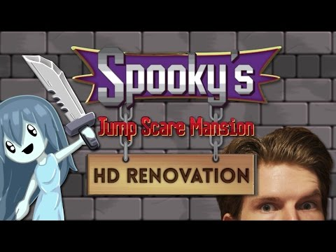 DESIVÉ PIXELY! D: (Spooky's Jump Scare Mansion HD Renovation) // IXAJR