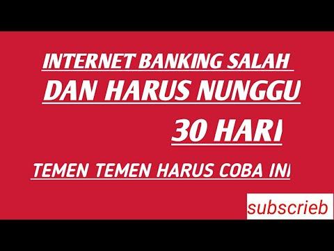 CARA MASUKIN INTERNET BANKING YANG BENER DI AKULAKU