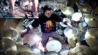 "Andy Niewolak - Drum Cover of Dream Theater's ""A Nightmare to Remember"" Pt 1 of 2"