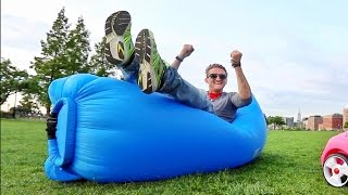 GIGANTIC BALLOON BED!