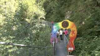 preview picture of video 'Wanderung durch die Leutascher Geisterklamm'