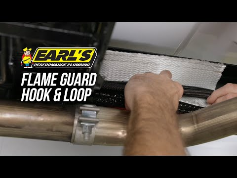 How to Keep from Melting Hoses, Cables, and Wires with Earls Flame Guard
