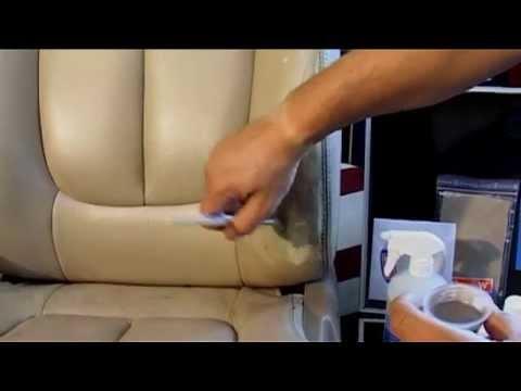 comment reparer siege en cuir