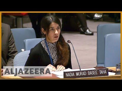 🏆Nobel Peace Prize shared by Nadia Murad, anti-rape activist l Al Jazeera English