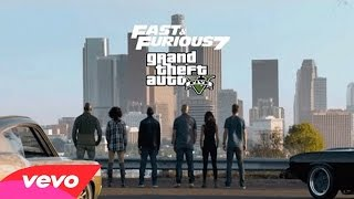 GTA 5| Wiz Khalifa - See You Again ft. Charlie Puth [Official Video] Furious 7 Soundtrack