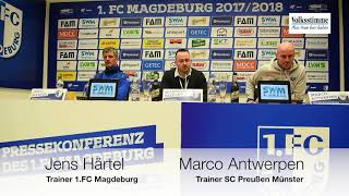 Konferenz nach FCM-SCP-Spiel