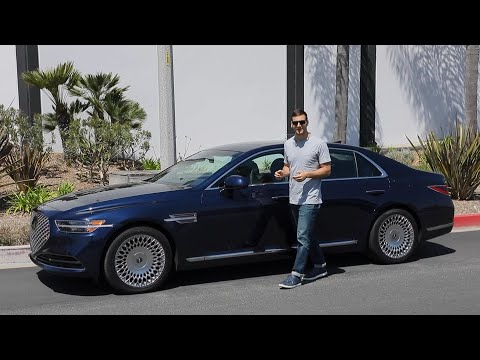 2020 Genesis G90 Test Drive Video Review