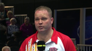 Just. 2019 World Indoor Bowls Championships: Day 12 Session 2