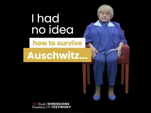 Keeping the Memory Alive - Holocaust survivors tell their story through an innovative video project