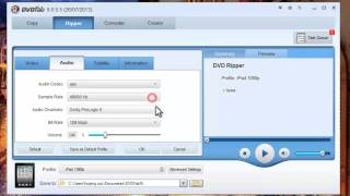 How to rip DVD to iPad with DVDFab DVD Ripper