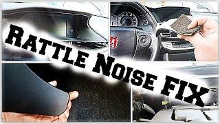 Download DIY 9thgen Honda Accord Interior Rattle Noise Fix