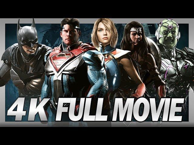 Injustice 2 (PC) - 4K - Full Movie - Cinematics/Complete Story (2160p)