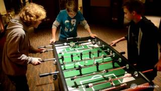 Детское Евровидение 2016: Настольный футбол на Евроклубе