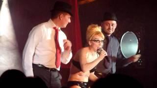 The fantastic Abi Collins at Proud Cabaret, London