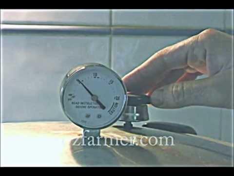 Using A 23 Quart / 21 Litre Presto Canner