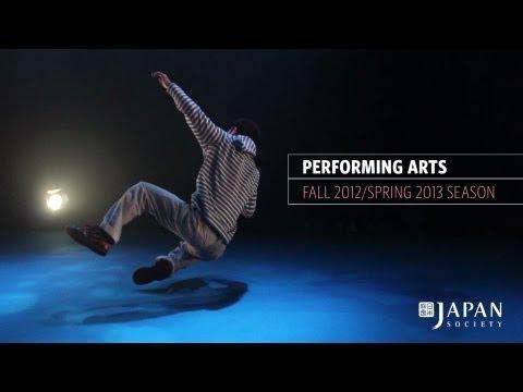 Japan Society Performing Arts - Fall 2012/Spring 2013