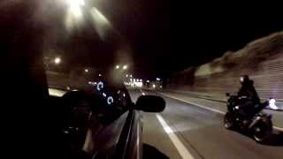 preview picture of video 'Nissan Skyline R33 GTR - NightRuns through Vienna'