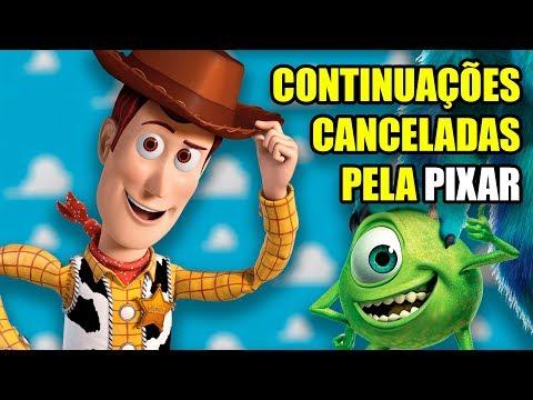 Continuações que a Pixar cancelou
