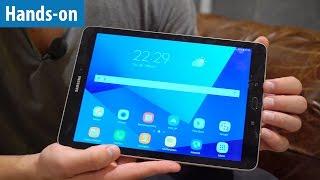 Premium-Tablet: Samsung Galaxy Tab S3 - Hands-on / Erster Test | deutsch / german