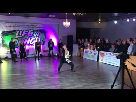 Настя Яворская - джаз-фанк Взр вышка финал/ Киев, Life in dance/2016