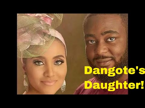 Richest Black Man In The World WEDS DAUGHTER   Dangote's Daughter's Wedding   Jamil Abubakar
