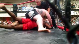 PYRAMID FIGHTS 3: Justin 'The Grizzly Bear' Frazier Vs Carlton Little - MMA FIGHT VIDEO