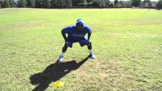 Play Like A Pro! - Linebacker Drill - Shuffle Read Run (Tackle Pursuit) - Sports Takeoff