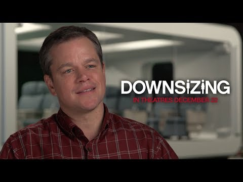 Downsizing (Featurette 'What Is Downsizing?')