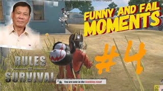 Funny and Fail Moments #4   Rules Of Survival (ROS BISAYA)