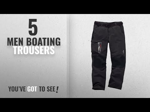 Top 10 Men Boating Trousers [2018]: 2018 Gill Race Trousers GRAPHITE RS09