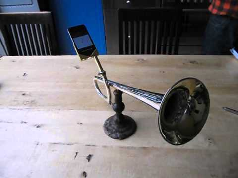 This Is The Best Low Tech iPhone Speaker I Have Ever Seen